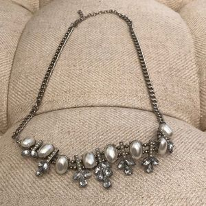 Jewelry - Silver and Pearl Necklace
